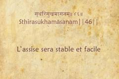 Yoga Sutra - Chapitre 2: Sadhana pada