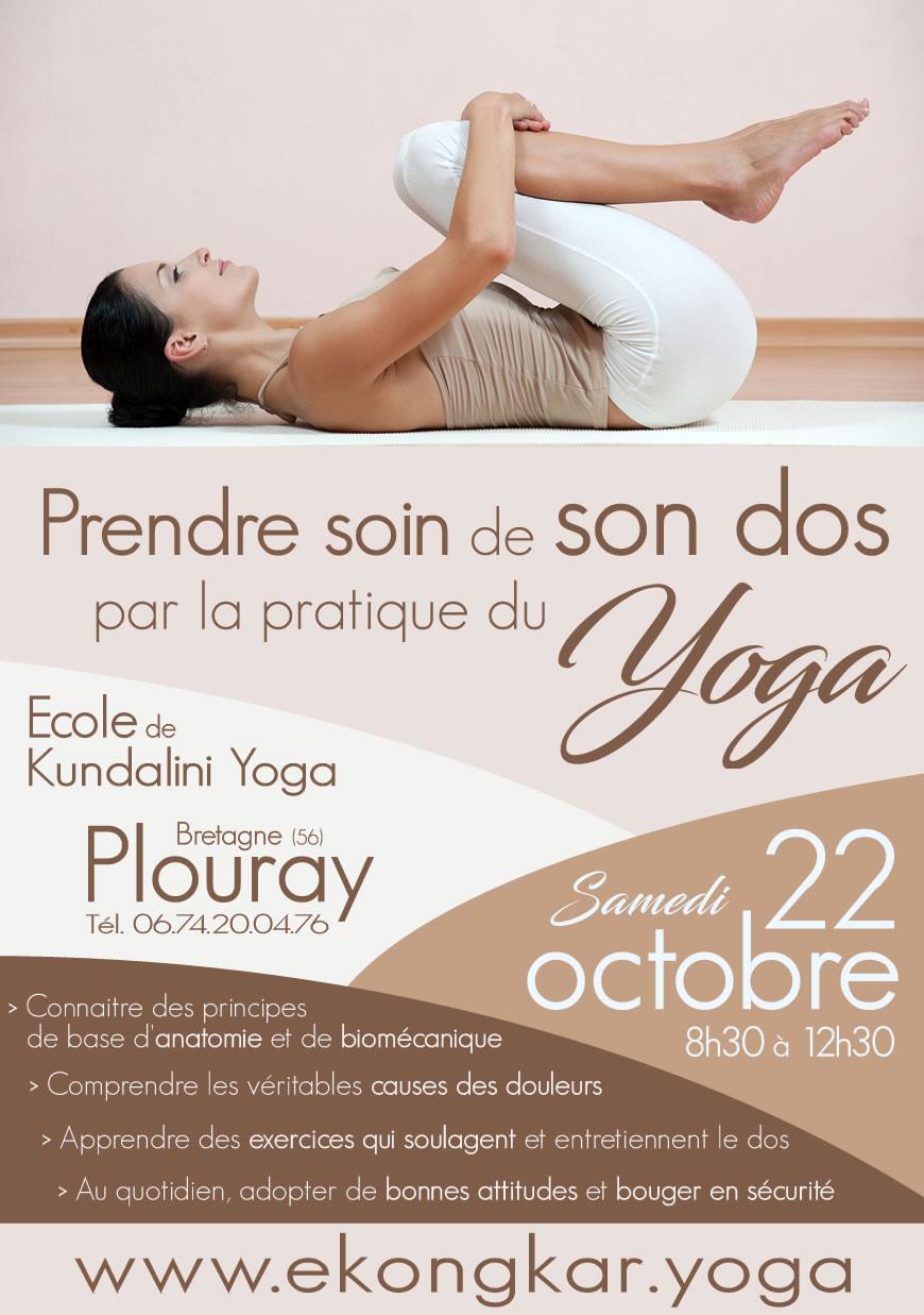 Comment Prendre Soin De Son Dos Par La Pratique Du Kundalini Yoga Yoga Ekongkar